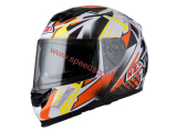 NZI PEAK WHITE ORANGE XS